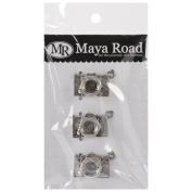 Maya Road VF2467 Vintage Metal Oh Snap Cameras Scrapbooking Charm Embellishments