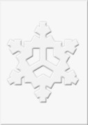 Snowflakes For Stamping