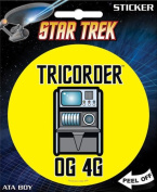 Star Trek - Tricorder OG 4G Die Cut Vinyl Sticker Decal