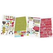 Simple Stories Sn@p Set - Sn@p Stickers - Christmas