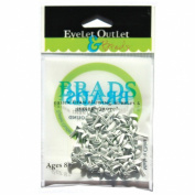 Eyelet Outlet Round Brads 4mm 70/Pkg