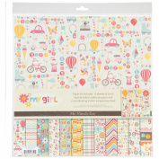 My Girl Cardstock Accessories Stickers 30cm x 30cm -