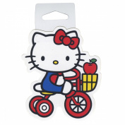 Sticker - Hello Kitty-Tricycle Apple