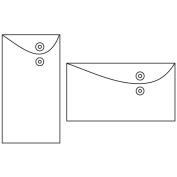 Kraft Envelope With Flap & String 17cm x 9.1cm 6/Pkg-Landscape 2 Styles/3 Each