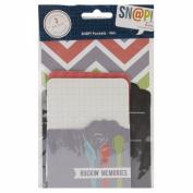 Him Sn@p! Memorabilia Pockets 3/Pkg-(2) 7.6cm x 10cm & (1) 10cm x 15cm