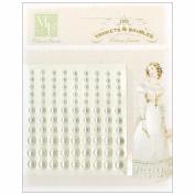 Pearls Embellishment-Cream