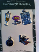 Card Charms Girl Theme Charms Pack of 5