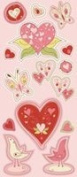 Cloud 9 Be Loved Chipboard Stickers 3.5X9-Hearts