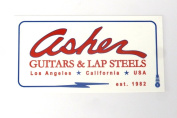 """Asher Guitars """"All Weather"""" Rectangle Sticker"""