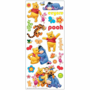 Disney Large Flat Stickers-Pooh & Friends