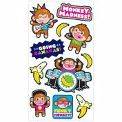 Sticko Plus Stickers-Monkey Musicians