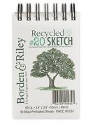 Borden & Riley BORDEN & RILEY Mini Sketch Pads #15 Tuppence Sketch
