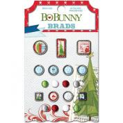 BoBunny Elf Magic Brad Embellishments