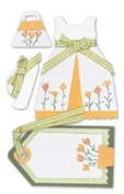 Westrim Paper Bliss Embellishments - Sunday Dress