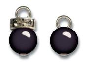 Pearl & Rhinestone Charms