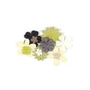 Art Flowers Neutral (70) by Hero Arts