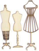 Kaisercraft Wood Flourishes, Manequins