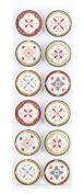Martha Stewart Crafts Stickers, Heirloom Foil Medallion