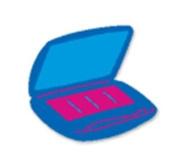 Ellison/Sizzix Thin Cuts Die Eye Make Up Makeup 22014