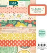 Close Knit Paper Pad 15cm x 15cm 36/Sheets-