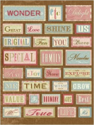 Amy Butler Grand Adhesions Embellishments, Words