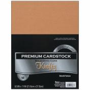Core'dinations Value Pack Cardstock 22cm x 28cm 50/Pkg-Krafty - Smooth