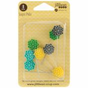 Sugar Picks Pins 8/Pkg-Sunshine