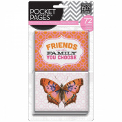 Me & My Big Ideas Pocket Pages Themed Cards 72pcs-Friends