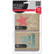 Me & My Big Ideas Pocket Pages Specialty Cards 36pcs-This Is My Life