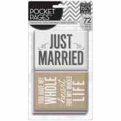 Me & My Big Ideas Pocket Pages Themed Cards 72pcs-Wedding