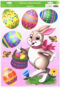 Easter Bunnies Window Clings