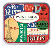 Cavallini Decorative Stickers Paris, Assorted