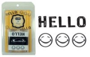 Just Rite Stampers 2 X Stampers - Hello & Smily Faces