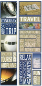 Travel Photo Banner Cardstock Scrapbook Stickers