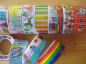 Decrative Crafting Tapes - 5 Different Designs