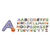 American Traditional Designs Chipboard Alphabet Letters - Spookytown