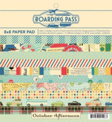 Boarding Pass Collection 8X8 Paper Pad