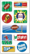 FX 3-D Motion Stickers - Football