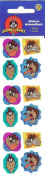 Looney Tunes Tasmanian Devil (Taz) Sparkle Stickers