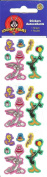 Looney Tunes Characters (Bugs Bunny, Tweety Bird, Daffy Duck) Birthday Sparkle Stickers