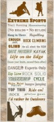 Creative Imaginations - Art Warehouse by Danelle Johnson - Active Summer Collection - Cardstock Stickers - Extreme Sports