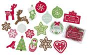 Martha Stewart Crafts - Scandinavian Acetate Die-Cut Stickers