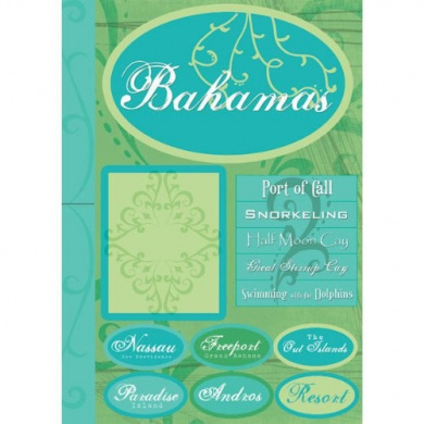 Bahamas Tropical Scrapbook Stickers (18851)