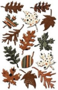 Creative Imaginations - Harvest Collection - Epoxy Stickers
