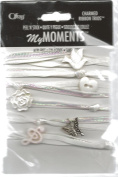 Baptism Peel and Stick Charmed Ribbon Trios