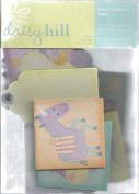 Baby Polka Dot Pig Chipboard Blocks & Tags