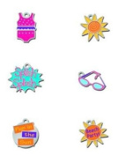 Fun in the Sun Lil' Charms for Scrapbooking