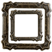 Momenta Small 2-Piece Metal Frame, Antique