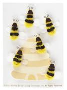 Martha Stewart Crafts Dimensional Bee Stickers
