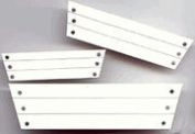 White Window Boxes Embellishments for Scrapbooking